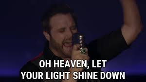 Who Sings Heaven Let Your Light Shine Down Runnin Outta Moonlight Lyrics Randy Houser Song In Images
