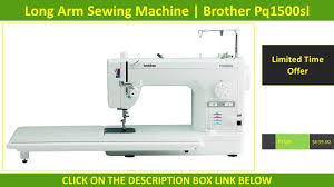 Best Computerized Quilting with Long Arm Sewing Machine USA ... & Best Computerized Quilting with Long Arm Sewing Machine USA | Brother  Pq1500sl Reviews Adamdwight.com