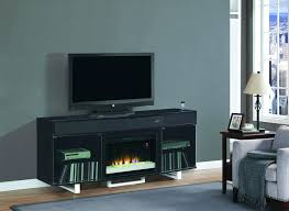 full image for black stand electric fireplace insert side table lamp accent chair cozy gray rugs