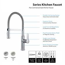 Moen Kitchen Faucet Aerator Single Handle Kitchen Faucet With Sprayer Best Kitchen Ideas 2017