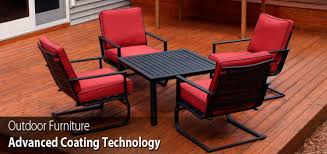 powder coat your patio furniture