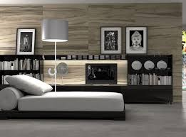 relaxing gray interceramic tile for modern bedroom ideas