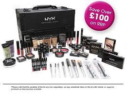 makeup artist starter kits nyx nyx advanced kit nyx cosmetics