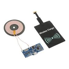 universal diy pcba qi wireless charger receiver module blue rh dx com portable wireless charger homemade wireless charger life