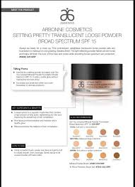 Arbonne Got You Covered Mineral Powder Foundation Allows