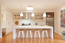 Small Picture Large Glass Wall Modern Scandinavian Kitchen Design White Island