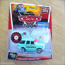 Disney PIXAR Cars TOON TORMENTOR'S BIGGEST FAN diecast MONSTER TRUCK ...