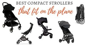 travel strollers that fit on a plane