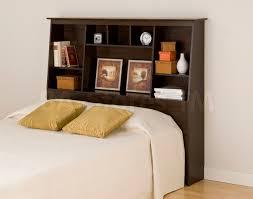Prepac Bedroom Furniture Beds Prepac Fremont Platform Storage Bed Bookcase Headboard