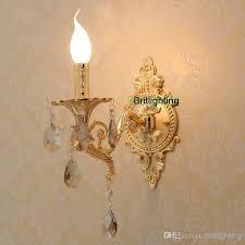 2018 Flush Mount Wall Lights Mirror Lighting Luxury Gold Wall Lamp