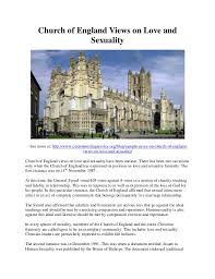 church of england views on love and sexuality church of england views on love and sexuality see more at