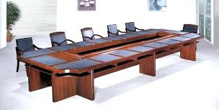 small office meeting table solid wood dining
