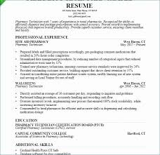 Pharmacy Assistant Resume Sample Unique Entry Level Pharmacy Technician Resume Various Pharmacy Technician