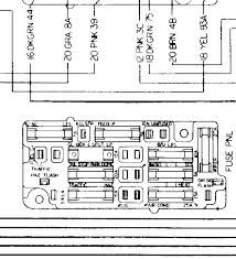 fuse panel diagram classic heartbeat forums a panel in a 1971 it should be pretty close to the same i ll have to dig in the storage shed to see if my big wiring diagram book shows a 67