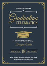 Graduation Announcements Template Graduation Invitation Maker Create Your Own Graduation