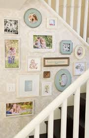 Decorating: Family Album In Stairway - Gallery Wall Ideas