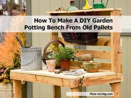 potting bench bhg