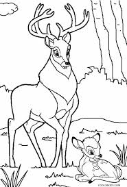Small Picture Printable Bambi Coloring Pages For Kids Cool2bKids