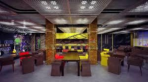 Дипломная Работа Дизайн Проект Ресторана black mamba dmax  Главный зал ресторана