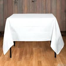 cotton tablecloths white table cloth for
