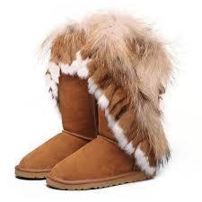 Ugg Women Fox Fur Tall 8688 Chestnut