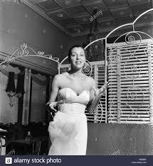 American singer Marion Bruce. April 1953 D2111 Stock Photo - Alamy