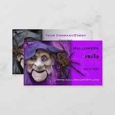 Halloween Business Cards Halloween Party Supplies Or Event Business Card