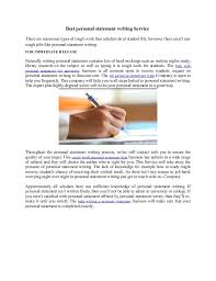 Excellent Ideas For Creating Personal statement editing service uk