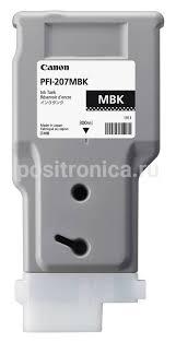 Купить <b>Картридж Canon PFI</b>-<b>207 MBK</b> черный матовый (<b>8788B001</b>)