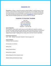Free Download Sample Resume For Carpenter Apprentice