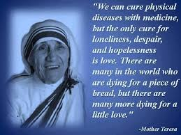 Mother Teresa Quotes On Love Magnificent Mother Teresa On Love PeopleINT People's Initiatives For