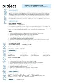 Project Manager Resume Templates Construction Project Manager Resume