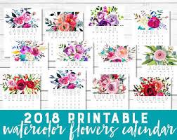 printable calendars etsy