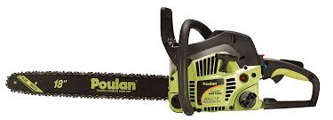 poulan chainsaw red. amazon.com : poulan p4018 18-inch 40cc 2-cycle gas-powered easy start chain saw with case (discontinued by manufacturer) chainsaw garden \u0026 red a