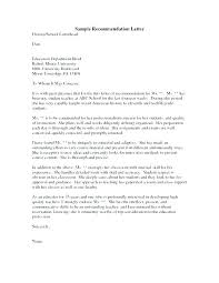 Write A Recommendation Letter For A Student Letter Of Recommendation For A Student From Teacher Sample High