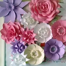 Buy Paper Flower Decoration Pearl Bud White Paper Flower For Wedding Dresses Shop Wfam 40 Buy Paper Flowers White Paper Folding Flowers Decoration Of Wedding