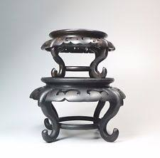 Asian Display Stands asian wood stand eBay 16