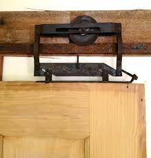 antique barn door rollers s antique style sliding barnwood door hardware closet set
