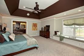 Deep Angled Tray Ceiling In Master Bedroom 3 Pillar Homes Bedroom .