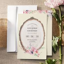 card invitation personalised wedding invitations announcements vistaprint