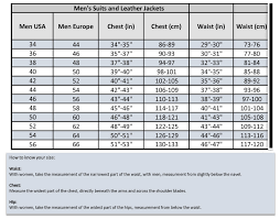 36 Suit Size Chart Ixs Race Suits