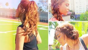 Hairstyles For School Step By Step 4 Simple Back To School Hairstyles Youtube