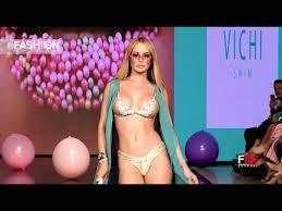 VICHI <b>SWIM Art</b> Hearts <b>Fashion</b> Beach Miami <b>Swim</b> Week 2019 SS ...