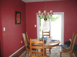Home Design   Exciting Dining Room Paint Ideass - Dining room red paint ideas