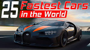 It's built to be super light and can reach a top speed of well over 300 mph, according to bugatti. These Are The 25 Fastest Cars In The World In 2020