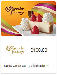 exclusive cheesecake factory gift card sweepstakes