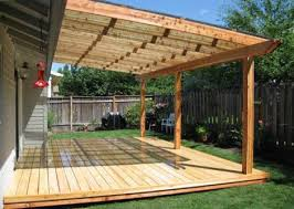 Exellent Simple Wood Patio Designs Covered Ideas Light Wooden Solid Cover Design On Creativity