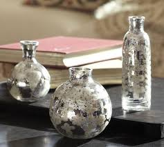 etched mini mercury glass vases set of 3 pottery barn link on view full size