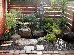 Before After Tsukubai Front Garden Garden Ideas Pinterest Simple Zen Garden Design Plan Concept
