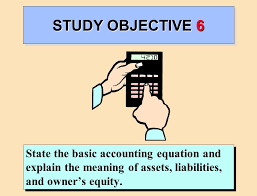 22 study objective 6 state the basic accounting equation and explain the meaning of assets liabilities and owner s equity